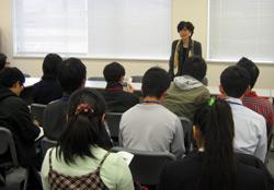 学生の永田町体感ツアーで講演