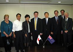 ニュージーランド副首相と会談