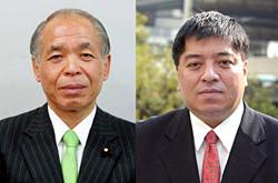 鈴木宗男氏(衆議院外務委員長)と佐藤優氏(外交評論家)