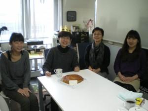 細川護煕さんからのプレゼントのケーキ